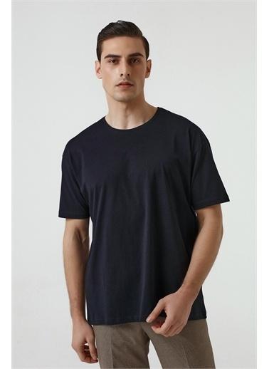 D'S Damat Oversize T-Shirt Lacivert